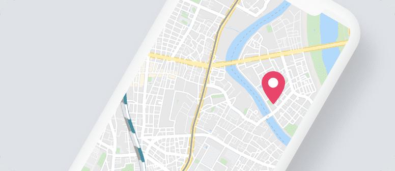 口コミコムに登録するとGoogleマップ、Yahoo!地図などの地図アプリにお店が表示されるようになり、集客力がアップします。